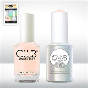 Color Club Gel POETIC HUES Neutrals Color Club Gel + Lacquer Duo by Color Club
