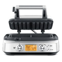 Breville BWM620XL The Smart 2 Slice Waffle Maker, Silver by Breville