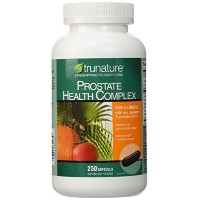 Trunature Prostate Health Complex Saw Palmetto with Zinc, Lycopene & Pumpkin Seed Extra Strength -...