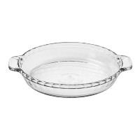 Anchor Hocking Oven Basics 9.5-Inch Deep Pie Plate, Set of 3 by Anchor Hocking