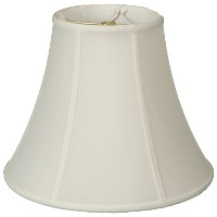 """Royal Designs True Bell Lamp Shade, White, 6.5 x 12 x 10.5 (BS-704-12WH) by """"Royal Designs, Inc"""""""