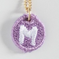 Embroidery Necklace コトダマ M