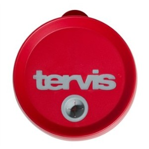 Tervis Straw Lid Red/Gray 16 Oz by Tervis Tumbler Company