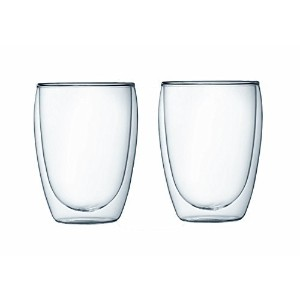 Bodum Pavina Double-wall Insulated 12-ounce Glasses - - Set of 4 by Bodum