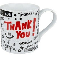 Konitz Thank You Mugs, Set of 4 by Konitz