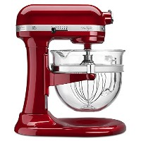 KitchenAid Professional 600 Design Series 6 Qt Glass Bowl Lift Stand Mixer - KF26M22CA - Candy...