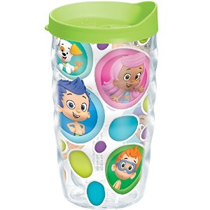 Tervis Nickelodeon Bubble Guppies Wavy Tumbler with Lime Green Lid, 10-Ounce by Tervis