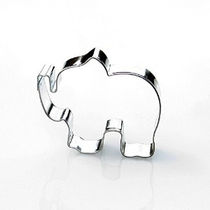 Elephant Cookie Cutter- Stainless Steel by Sweet Cookie Crumbs