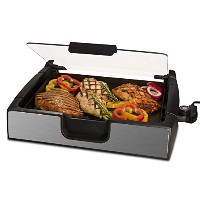 Smart Planet SIG-4 Napa Valley Gourmet Premium Smokeless Stainless Steel Grill, Silver by Smart...