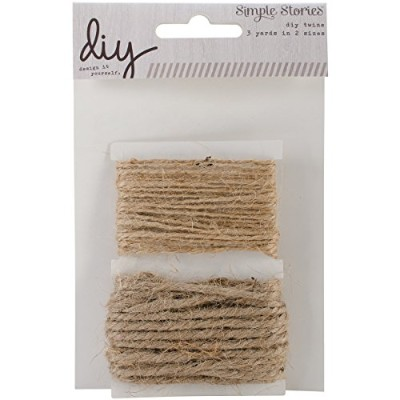 DIY Twine 2 Sizes-3 Yards Each (並行輸入品)