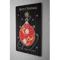 Tin Sign ブリキ看板 Christmas Decoration Merry Christmas Happy New Year Metal Plate