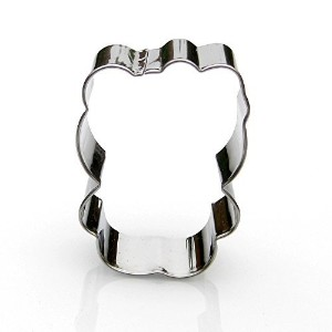 Hello Kitty Cookie Cutter- Stainless Steel by Sweet Cookie Crumbs