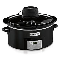 Crock-Pot iStir Automatic Stirring Slow Cooker with 2 Removable Paddles, Black, SCCPVP650A by Crock...