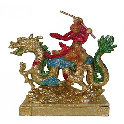 Monkey King on Dragon for Business Success