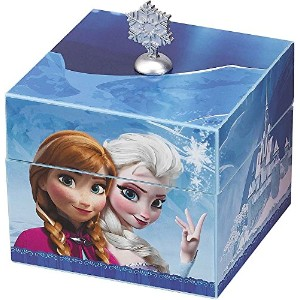 Disney Frozen Music Box Plays Let It Go With Elsa Pendant Necklace ディズニー アナと雪の女王 オルゴール Mr....