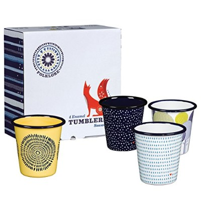 Folklore Tumbler Set (Set of 4) by Wild and Wolf
