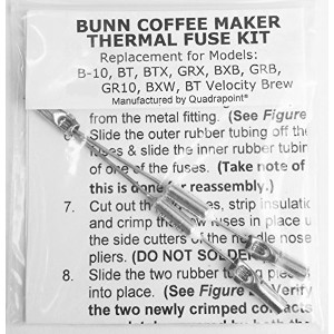 Repair Your Bunn Coffee Maker, Water Not Heating? Thermal Fuse Harness (B-10, GRX, BXB, BTX, GRB,...