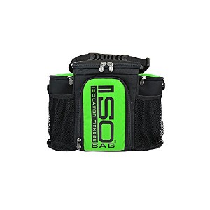 2nd Gen Isobag 3 Meal Lime Green/Black by Isolator Fitness
