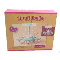 Beaded Chandelier Creation Kit with 10 LED Lights by Battat