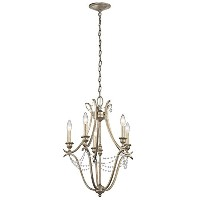 Kichler 43607SGD 5-Light Mini Chandelier by Kichler
