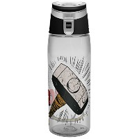 Zak! Designs Tritan Water Bottle with Flip-top Cap with Thor Graphics, Break-resistant and BPA-Free...