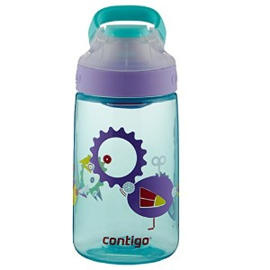 Contigo Autoseal Dandelion Gizmo Sip Kids Water Bottle, 14 oz. 水筒 マリン 400ml