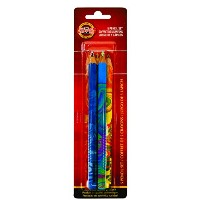Koh-I-Noor Magic FX Pencils, 5-Pack - Original, Tropical, Neon, America and Fire (FA3405.5BC) by...