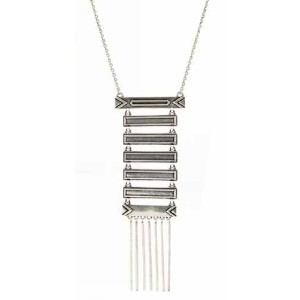 House of Harlow 1960 (ハウスオブハーロウ1960) Totem Pole Necklace Silver 【並行輸入品】