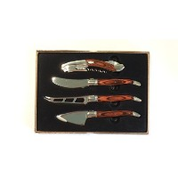 Laguiole 4-Piece Wine and Cheese Set by Laguiole