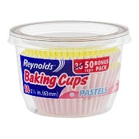 Reynolds Baking Cups, Pastels, 50 Count by Reynolds