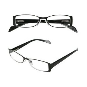 READING GLASSES M.BK/BK 1.0