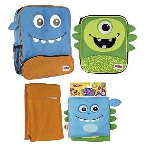 Nuby Insulated Lunchバッグコンボwithスナックバッグ 5728459