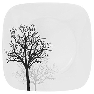 Corelle Square Timber Shadows 10.25 Dinner Plate (Set of 8) by Corelle Coordinates