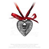 The Reliquaryハートロケットby Alchemy Gothic