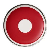 Villeroy & Boch Anmut Colourレッドチェリー夕食後( Demi ) Saucer