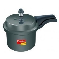 Prestige Deluxe Hard Anodized Black Color Pressure Cooker, 2-1/2-Liter [並行輸入品]