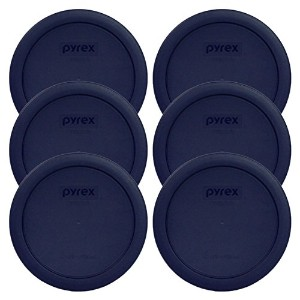 Pyrex Blue 4 Cup Round Plastic Cover - by Pyrex