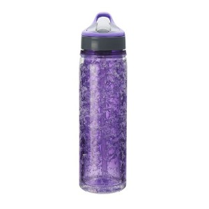Design For Living Double Wall Tritan Water Bottle with Crackle Gel, 18-Ounce 水筒 500ml パープル