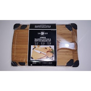 Sabatier Bamboo Cutting Boards by Sabatier