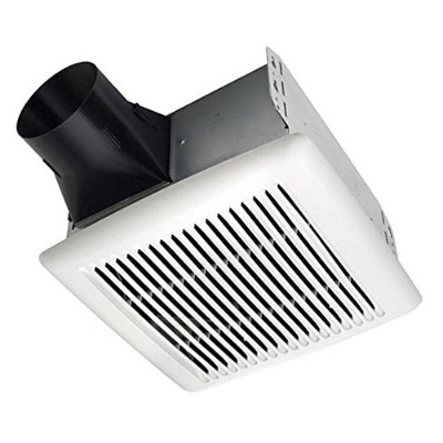 Broan AE110 Invent Energy Star Qualified Single-Speed Ventilation Fan, 110 CFM 1.3 Sones by Broan