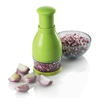 Zeal Professional Food Chopper and Dicer–No Tears–Finely Chop玉ねぎ、野菜、フレッシュハーブ、にんにく、チョコレート、ナット–...