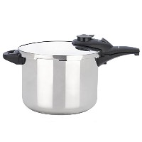 Fagor Innova Pressure Cooker/Canner, 10 quart, Stainless Steel by Fagor