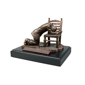 """Lighthouse Christian Products Moments of Faith Praying Man Spanish Sculpture, 6 """" by Lighthouse..."""