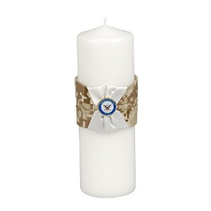Jamie Lynn Digital Military Collection, Unity Candle, Tan, Navy [並行輸入品]