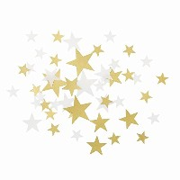 Talking Tables Party Porcelain Star Table Scatter Confetti, Gold [並行輸入品]