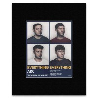EVERYTHING EVERYTHING - The Album 14th January Mini Poster - 31.8x28cm