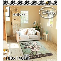 Vintage SERIES/MICKEY/Music RUG/ミュージックラグ/size100×140cm