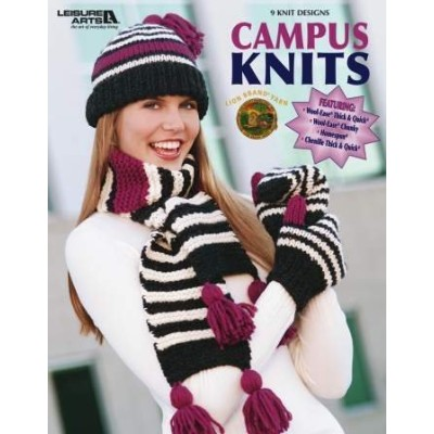 Campus Knits by LEISURE ARTS [並行輸入品]