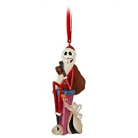 Disney - Jack Skellington and Zero Ornament - New with Tags by Disney [並行輸入品]