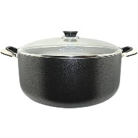 Wee's Beyond 6271-40 24 quart Stock Pot, Large, Black by Wee's Beyond